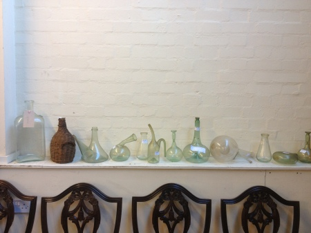 Whole collection of Victorian glassware for £40 would make an amazing display